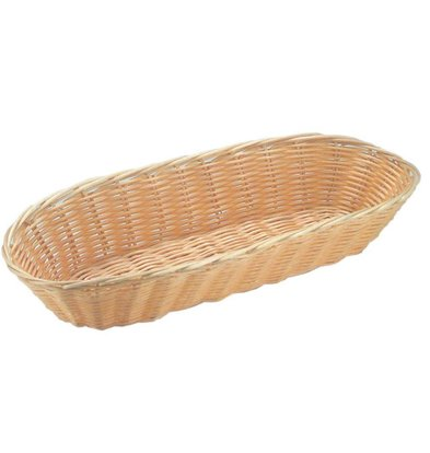 Hendi Bread Basket Oval - Polyrattan - 3er Set - 375x150x (h) 75 mm