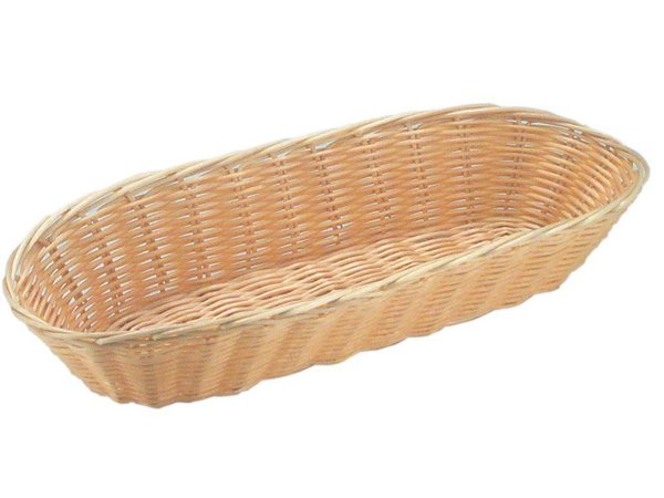 Hendi Bread Basket Oval - Polyrattan - 3er Set - 375x150x (h) 75 mm