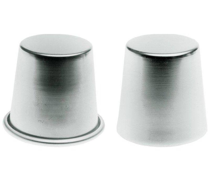 Hendi Baba Mould mit Felge 70x68 mm - Aluminium