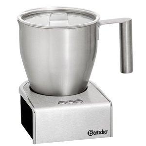 Bartscher Induction milk frother | Stainless steel | 600W | 125x150x (H) 180mm