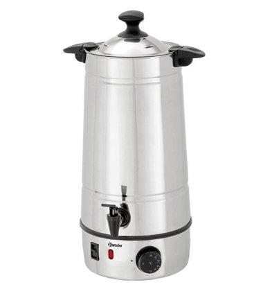 Bartscher Mulled wine boiler | Stainless Steel Enclosure | Temperature Controller | Ø220 mm | 7 liters