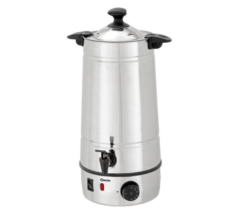 Bartscher Gluhwein ketel | Edelstalen Behuizing | Temperatuurregelaar | Ø220 mm | 7 liter