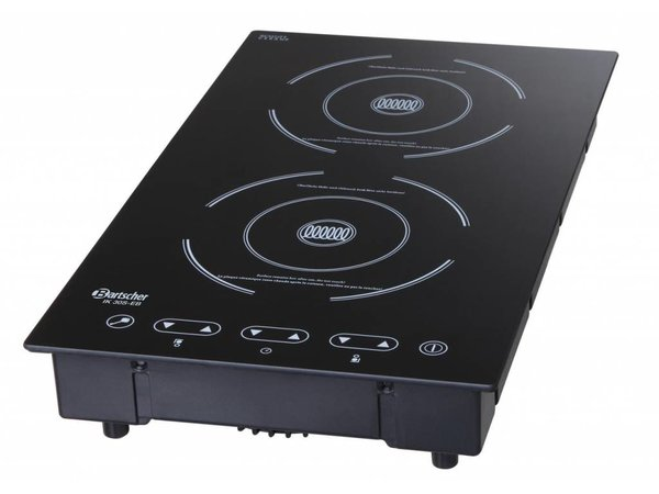 Bartscher Induction hob | Mounting Suitable | For 1300W | Behind 1800W | 290x510x (H) 83mm