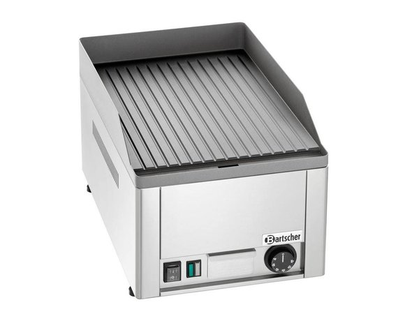 Bartscher Griddle plate GDP 320E, grooved 32x 48 cm