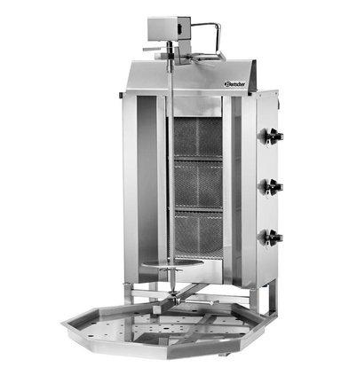 Bartscher Donergrill Gas Spit max 40kg