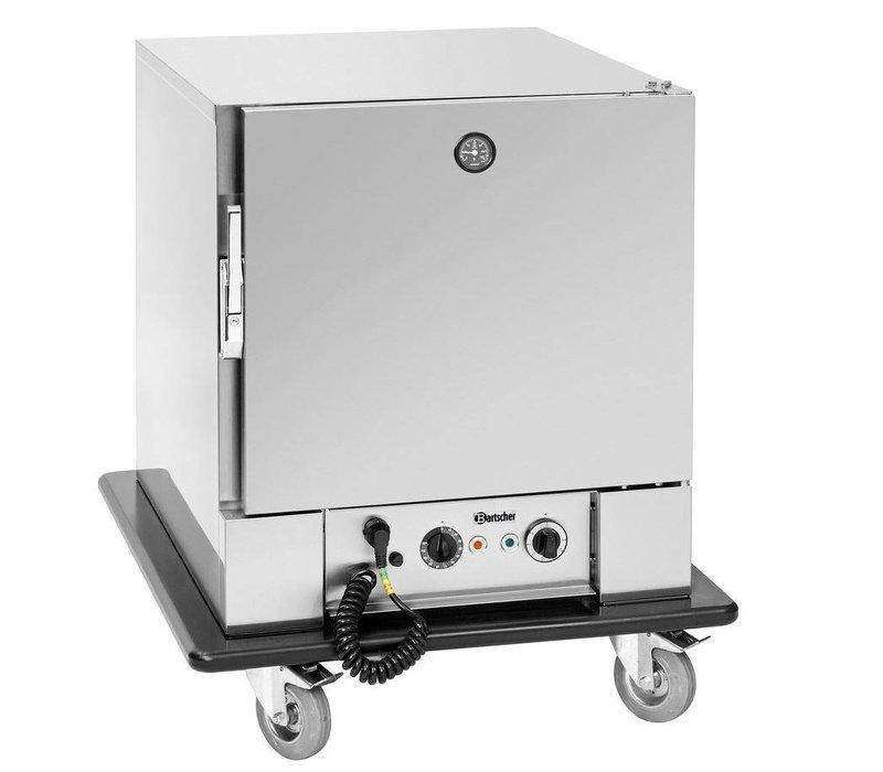 Bartscher Banquet trailer | 5x2 / 1GN | 0 ° C to 90 ° C | 650x780x (H) 920mm