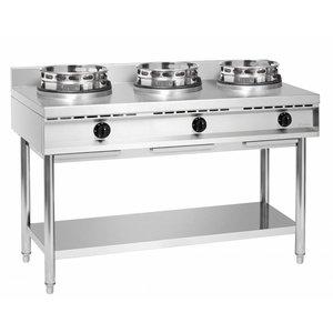 Bartscher Wok cooker, 3 burners