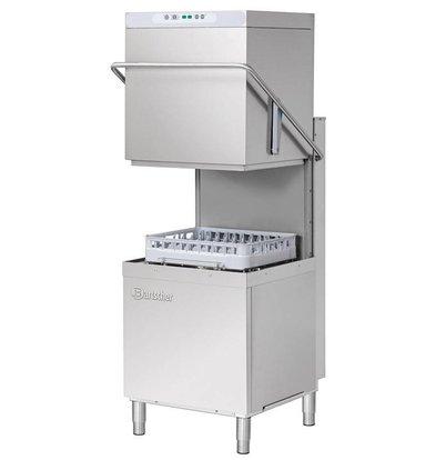 Bartscher Korbdurchschub- Spülmaschinen | 50x50cm | 79x76x (h) 157 / 208cm | Zyklus 60/110 / 150sec + 8 min | 400V
