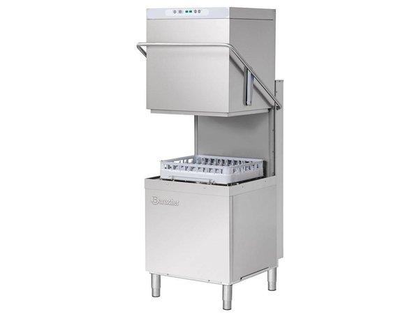 Bartscher Pass Trough Dishwasher | 50x50cm | 79x76x (h) 157 / 208cm | Cycle 60/110 / 150sec + 8 min | 400V