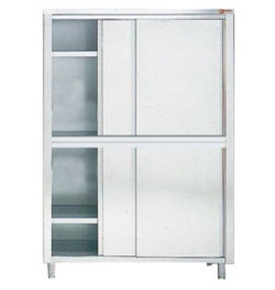 Diamond Cabinet / Porcelain Cabinet INOX - 4 Doors   2000 (B)   600 (D)   2000 (H) mm