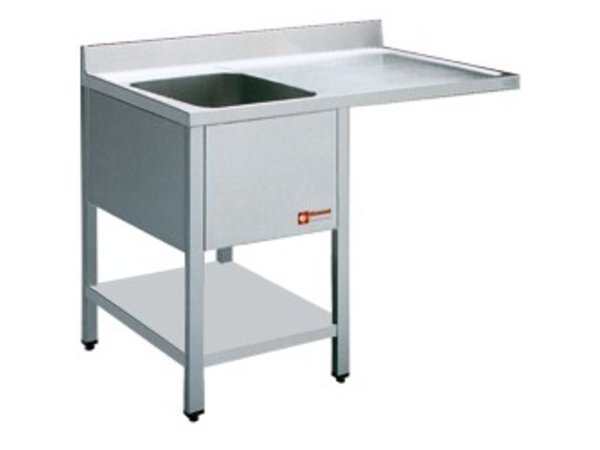 Diamond Sink - 1 container - 1400x700x900 (h) - draining Right