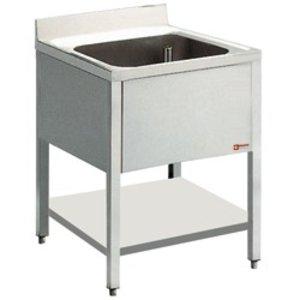 Diamond Sink INOX   1 Sinken 400x400x275 (h)   600 (b) X900 (H) mm   600 (T) mm