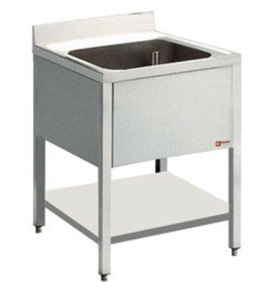 Diamond Sink INOX   1 Sink 400x400x275 (h)   600 (b) X900 (H) mm   600 (d) mm
