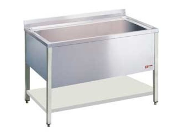 Diamond Sink INOX - 1 XL Sink of 950x500x (H) 400mm - 1200x700x (H) 900mm