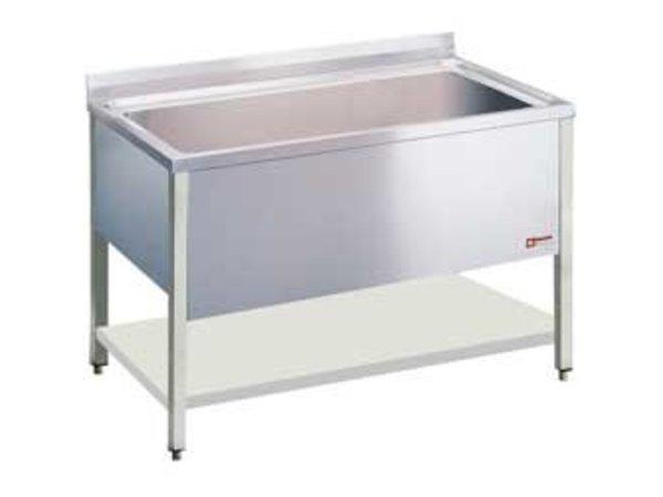 Diamond Sink INOX - 1 XL-Wanne von 950x500x (H) 400mm - 1200x700x (H) 900mm