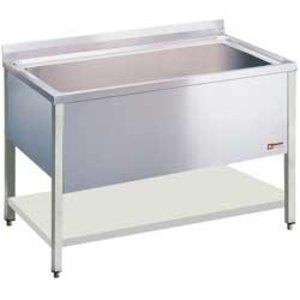 Diamond Sink INOX - 1 XXL Sink von 1400x500x400 (h) mm - 1600x700x900 (h) mm