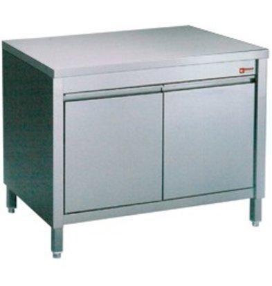 Diamond Stainless Steel Cupboard with 2 Swing doors | 600x700x (H) 900mm