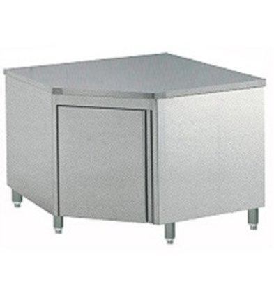 Diamond Wall Corner cabinet with folding door 1000x1000x900 (h)