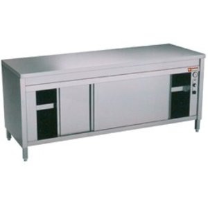 Diamond Work Cupboards with 2 Sliding doors | heated | 1400x600x (H) 900mm