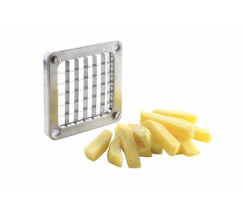 Hendi Fries Cutter Selbst Pommes für Schneiden | Inkl. 4 Messer - VIDEO
