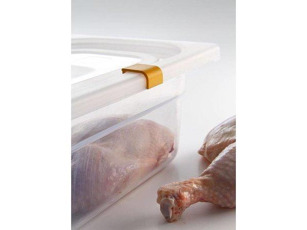 Hendi Auf Box PP-Kunststoff GN 1/1 150 mm + Deckel und 4 Clips