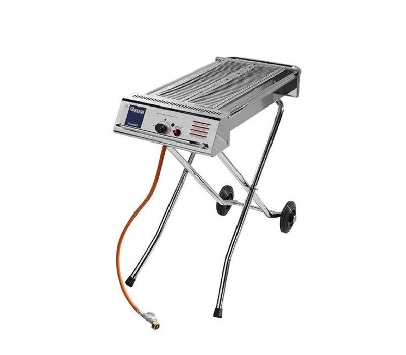 Hendi Hendi Gasbarbecue Xenon Pro | 1120x410x(h)900mm | Ideale BBQ voor SATE!
