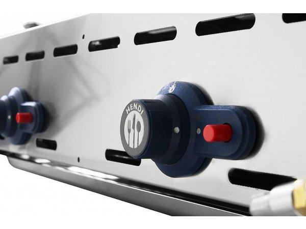 Hendi Hendi Green Fire Grill | 2 Brenner | Grill Professionelle 740x612x (H) 825mm | VIDEO