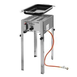 Hendi Gas Barbecue Hendi 154 700 Grillmaster Mini | Propane BBQ | Complete with accessories