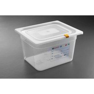 Hendi Auf Box PP-Kunststoff GN 1/2 100 mm + Deckel und 4 Clips