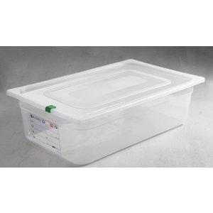 Hendi Auf Box PP-Kunststoff GN 1/1 100 mm + Deckel und 4 Clips