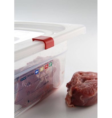 Hendi Cover stock box PP plastic GN 1/6