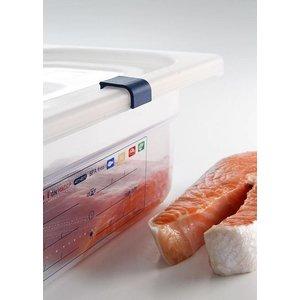 Hendi Cover stock box PP plastic GN 1/2