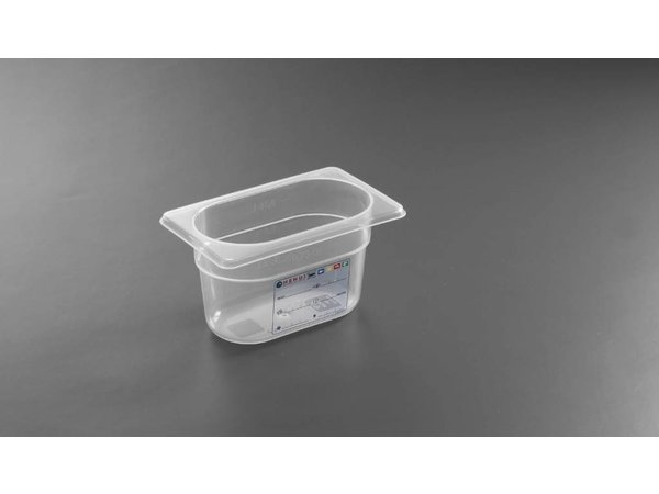 Hendi Auf Box PP-Kunststoff GN 1/9 100 mm