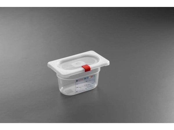 Hendi Stock Box PP plastic GN 1/9 100 mm