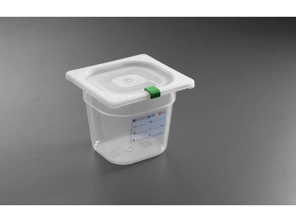 Hendi Auf Box PP-Kunststoff GN 1/6 100 mm