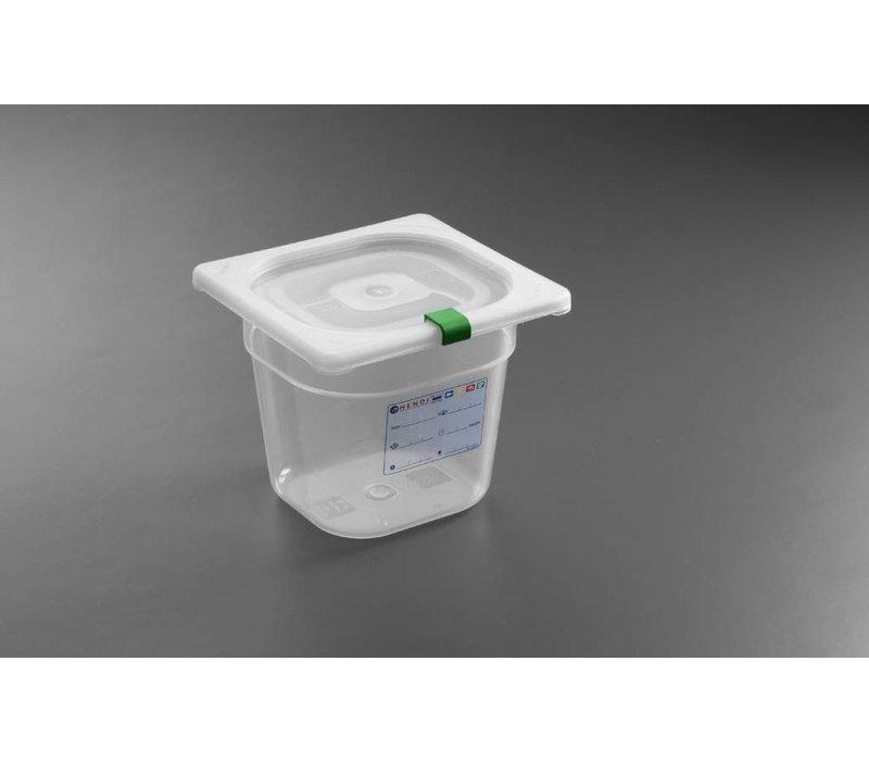 Hendi Stock Box PP plastic GN 1/6 100 mm