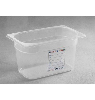 Hendi Stock Box PP plastic GN 1/4 150 mm