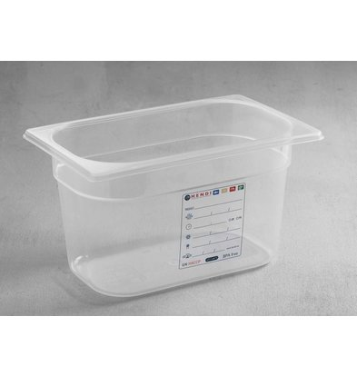 Hendi Auf Box PP-Kunststoff GN 1/4 200 mm