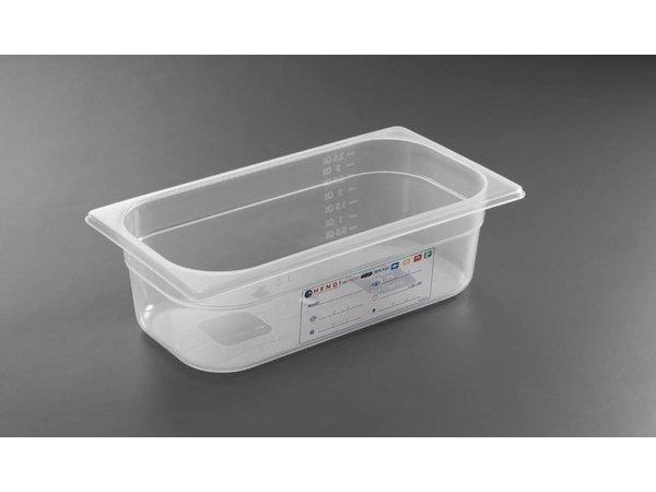 Hendi Auf Box PP-Kunststoff GN 1/3 65 mm
