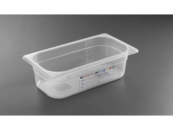 Hendi Auf Box PP-Kunststoff GN 1/3 200 mm