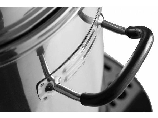 Hendi Espressokocher Edelstahl Mantel | Mit Cup Serien- | Ø241x (H) 480 mm | 40 Cups | 6 Liter