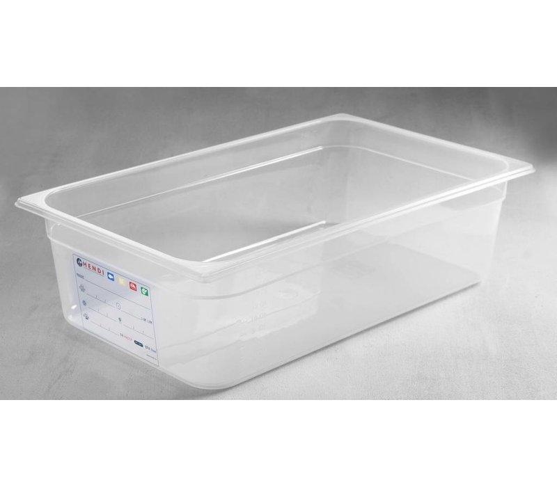 Hendi Auf Box PP-Kunststoff GN 1/1 100 mm
