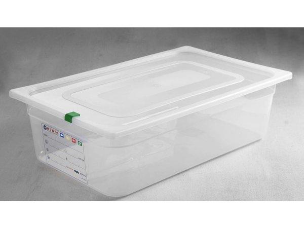 Hendi Voorraaddoos plastic PP GN 1/1 200 mm