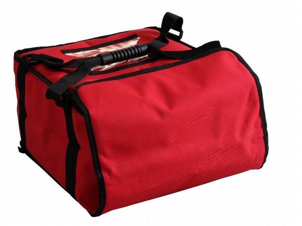 Hendi Pizza transport bag 350x350 mm - H 60 mm for 4 boxes
