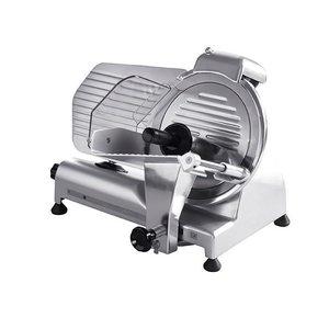 Hendi Meat Slicer Aluminium PRO | 230 | 3200W | Ø 250 mm | 380x490x (H) 380mm | VIDEO