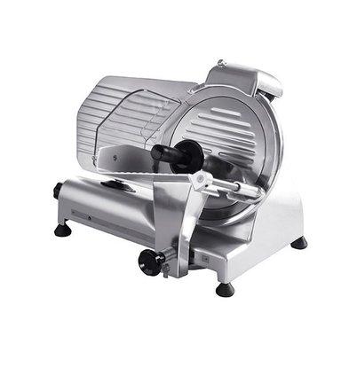 Hendi Vleessnijmachine van Aluminium PRO | 230V | 320W | Ø250 mm | 380x490x(H)380mm | BEKIJK VIDEO