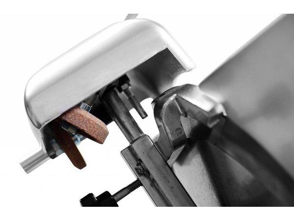 Hendi Fleischschneidemaschine Aluminium BASIC | 410x400x (H) 350mm | 230 | 280W | Ø 220 mm
