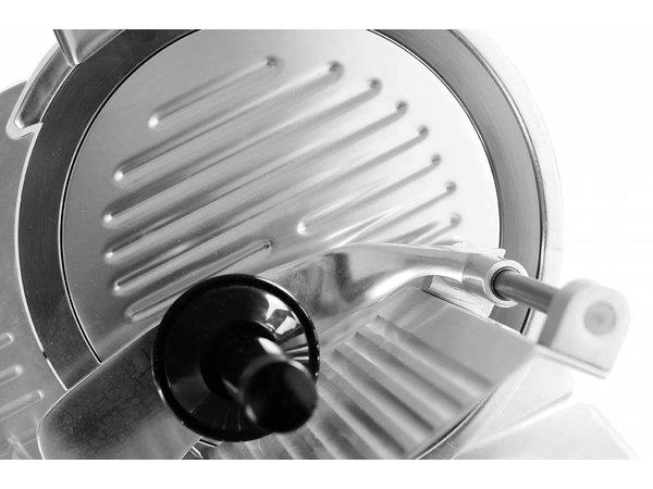 Hendi Meat Slicer Aluminium BASIC | 410x400x (H) 350mm | 230 | 280W | Ø 220 mm
