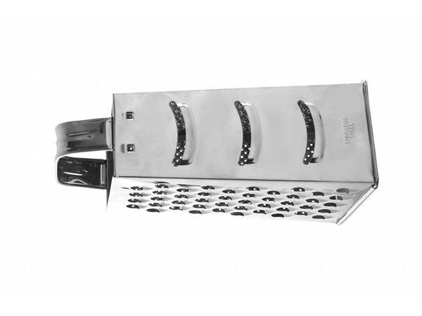 Hendi Edelstahl-Vierseitige Reibe - 90x65x200 mm