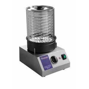 Hendi Hotdog Machine - Sausage Warmer - 500W - 240x300x400mm